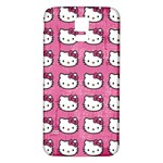 Hello Kitty Patterns Samsung Galaxy S5 Back Case (White) Front