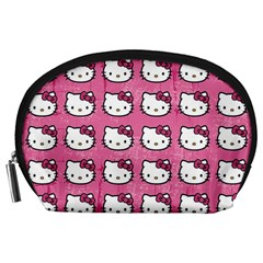 Hello Kitty Patterns Accessory Pouches (Large)