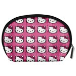 Hello Kitty Patterns Accessory Pouches (Large)  Back