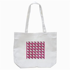 Hello Kitty Patterns Tote Bag (White)