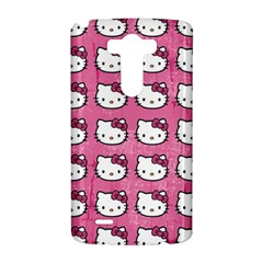 Hello Kitty Patterns LG G3 Hardshell Case