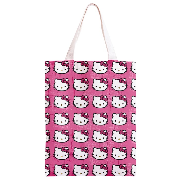 Hello Kitty Patterns Classic Light Tote Bag