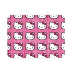 Hello Kitty Patterns Double Sided Flano Blanket (Mini)  35 x27 Blanket Front
