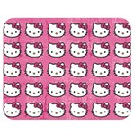 Hello Kitty Patterns Double Sided Flano Blanket (Medium)  60 x50 Blanket Back