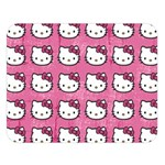 Hello Kitty Patterns Double Sided Flano Blanket (Large)   Blanket Back