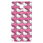 Hello Kitty Patterns Galaxy Note 4 Back Case Front