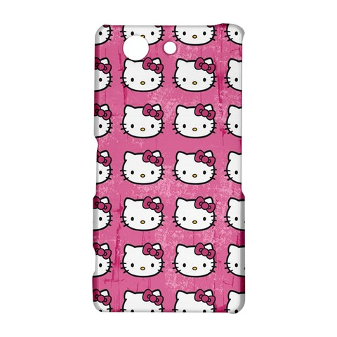 Hello Kitty Patterns Sony Xperia Z3 Compact