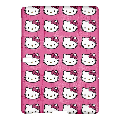 Hello Kitty Patterns Samsung Galaxy Tab S (10.5 ) Hardshell Case