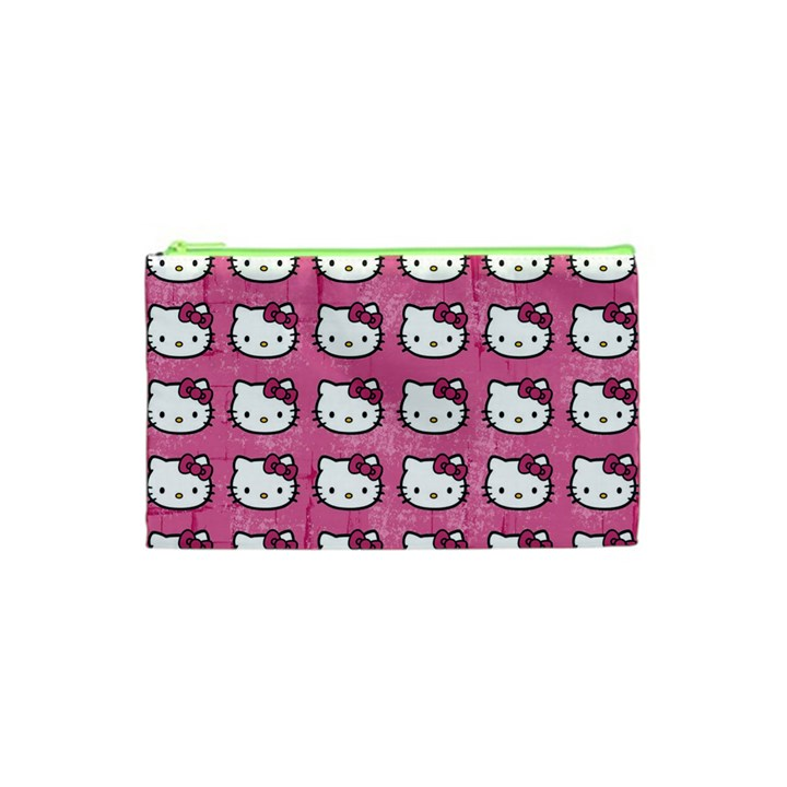 Hello Kitty Patterns Cosmetic Bag (XS)