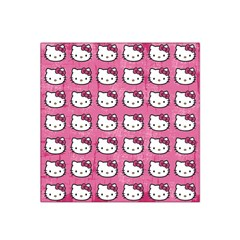 Hello Kitty Patterns Satin Bandana Scarf