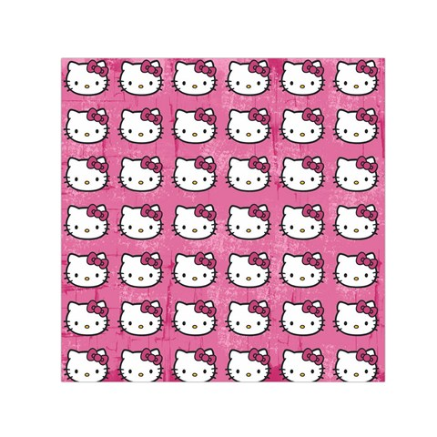 Hello Kitty Patterns Small Satin Scarf (Square)