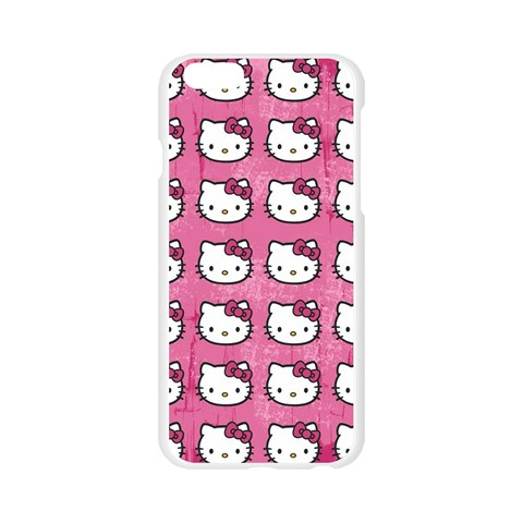 Hello Kitty Patterns Apple Seamless iPhone 6/6S Case (Transparent)