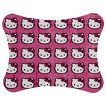 Hello Kitty Patterns Jigsaw Puzzle Photo Stand (Bow) Front