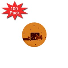 Nyan Cat Vintage 1  Mini Buttons (100 Pack)