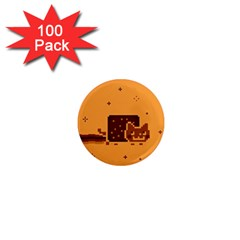 Nyan Cat Vintage 1  Mini Magnets (100 pack)