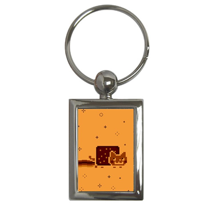 Nyan Cat Vintage Key Chains (Rectangle)