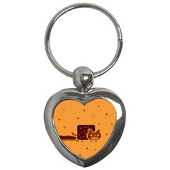 Nyan Cat Vintage Key Chains (Heart)