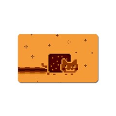 Nyan Cat Vintage Magnet (name Card)