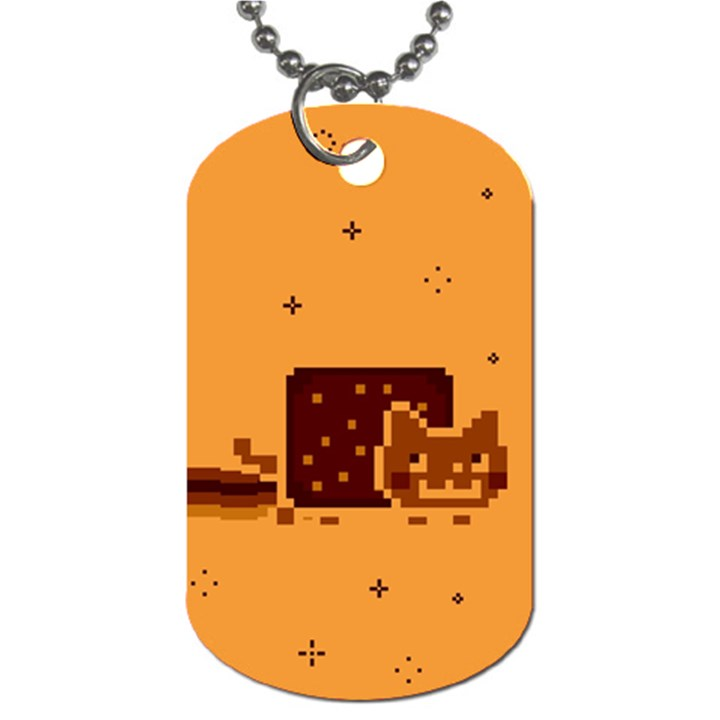 Nyan Cat Vintage Dog Tag (One Side)