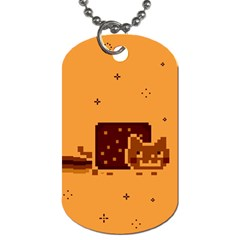 Nyan Cat Vintage Dog Tag (Two Sides)