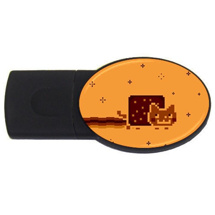 Nyan Cat Vintage USB Flash Drive Oval (1 GB)