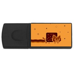 Nyan Cat Vintage USB Flash Drive Rectangular (1 GB)