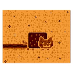 Nyan Cat Vintage Rectangular Jigsaw Puzzl