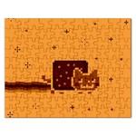 Nyan Cat Vintage Rectangular Jigsaw Puzzl Front