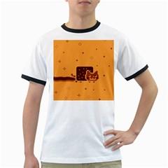 Nyan Cat Vintage Ringer T Shirts