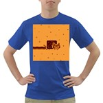 Nyan Cat Vintage Dark T-Shirt Front