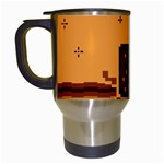 Nyan Cat Vintage Travel Mugs (White) Left