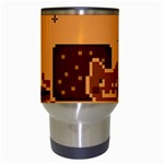 Nyan Cat Vintage Travel Mugs (White) Center
