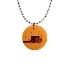 Nyan Cat Vintage Button Necklaces