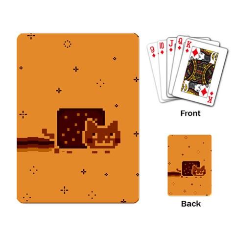 Nyan Cat Vintage Playing Card