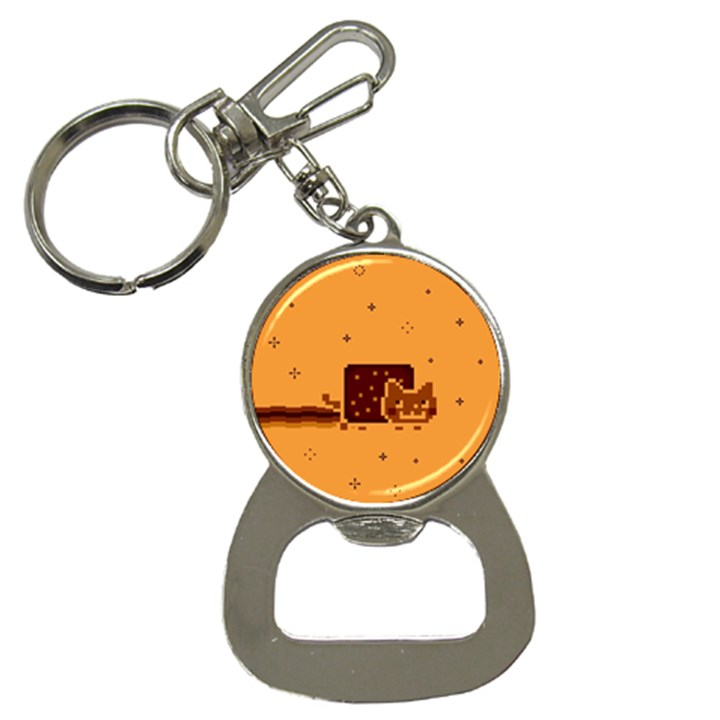Nyan Cat Vintage Bottle Opener Key Chains