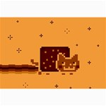 Nyan Cat Vintage Collage Prints 18 x12 Print - 3