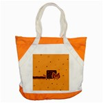 Nyan Cat Vintage Accent Tote Bag Front
