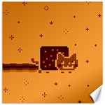 Nyan Cat Vintage Canvas 12  x 12   12 x12 Canvas - 1