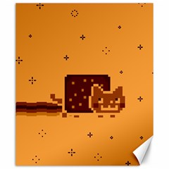 Nyan Cat Vintage Canvas 20  x 24