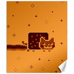 Nyan Cat Vintage Canvas 20  x 24   24 x20 Canvas - 1