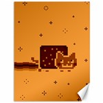 Nyan Cat Vintage Canvas 36  x 48   48 x36 Canvas - 1