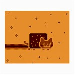 Nyan Cat Vintage Small Glasses Cloth (2-Side) Front