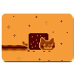 Nyan Cat Vintage Large Doormat  30 x20 Door Mat - 1