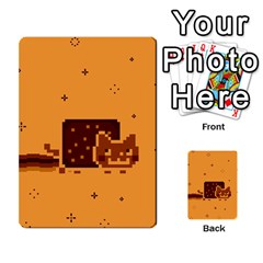 Nyan Cat Vintage Multi-purpose Cards (Rectangle)