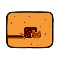 Nyan Cat Vintage Netbook Case (small)