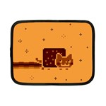 Nyan Cat Vintage Netbook Case (Small)  Front