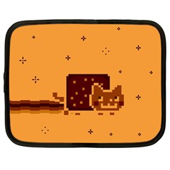 Nyan Cat Vintage Netbook Case (Large)