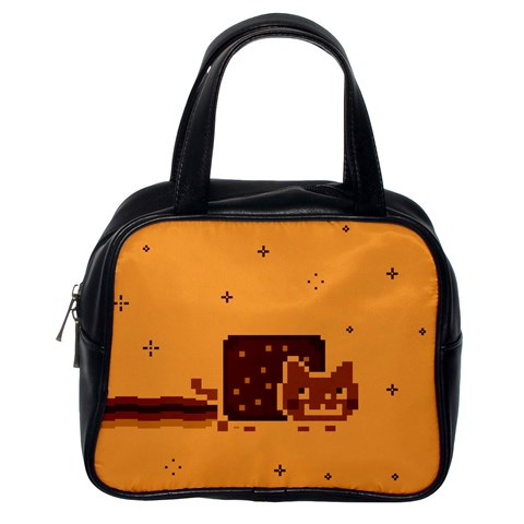 Nyan Cat Vintage Classic Handbags (One Side)