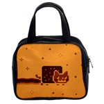 Nyan Cat Vintage Classic Handbags (2 Sides) Front