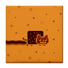 Nyan Cat Vintage Face Towel